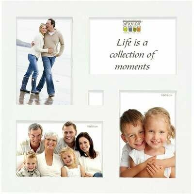 Cadre photo multivues S65SK P4 - pour 4 photos 10x15cm (bois)