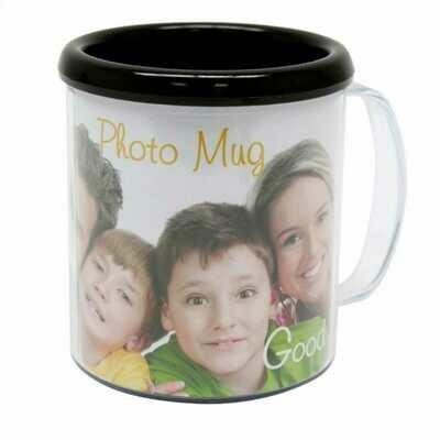 Mug Noir - Hauteur 10cm - Pour photo 9x25cm