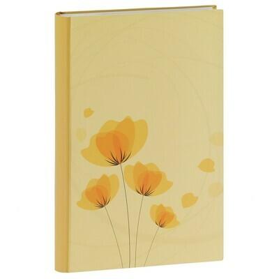 Album photo pochettes avec mémo ELLYPSE 2 - 100 pages blanches - 300 photos - Couverture Jaune 22.5x37cm
