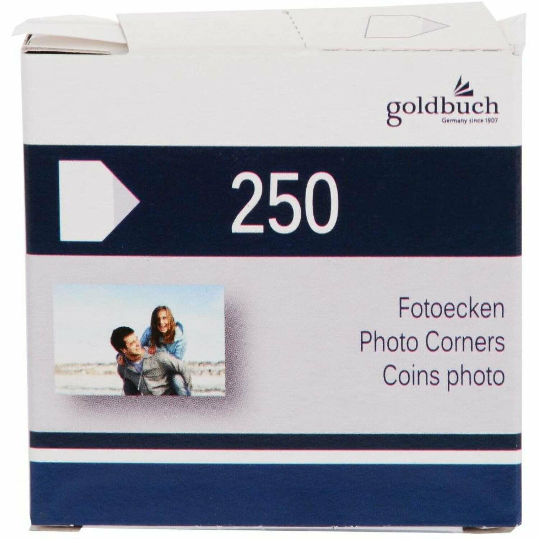 Coins photo - Transparents - Boite de 250