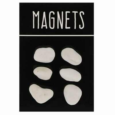 Magnet pierres - Blister de 6