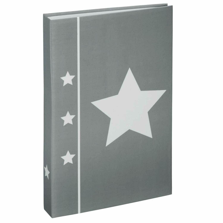 HAMA - Album photo pochettes sans mémo FLIP SKIES - 80 pages - 80 photos - Couverture Grise 16,5x26,5cm