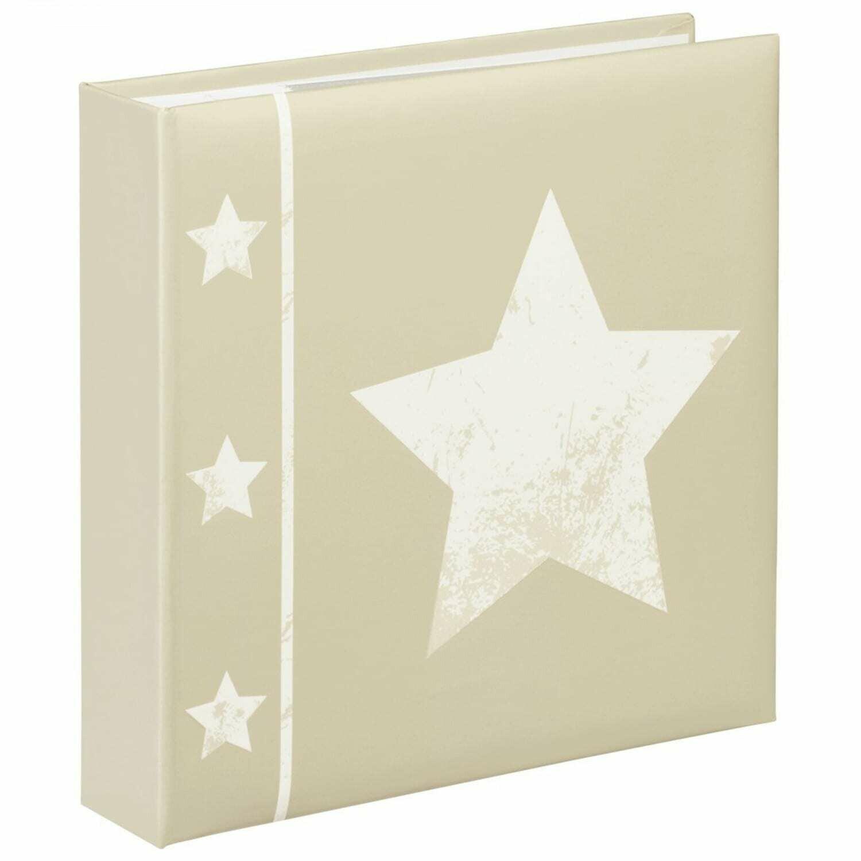 HAMA - Album photo pochettes avec mémo SKIES - 100 pages blanches - 200 photos - Couverture Beige 22,5x22cm