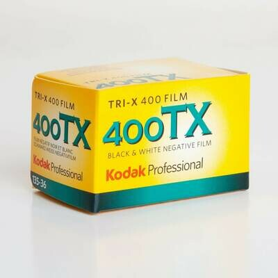 KODAK - Pellicule photo pro Noir et Blanc TRI-X 400 Format 135 / 36P L'unité