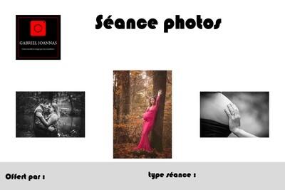 Séance photos 60 minutes