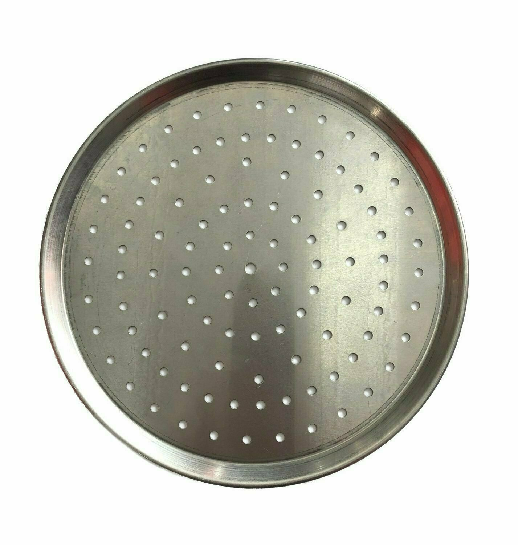 """14"""" Aluminium Pizza Tray Perforated"""
