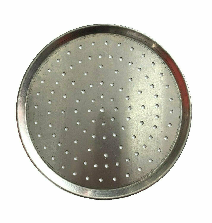 """9"""" Aluminium Pizza Tray Perforated"""