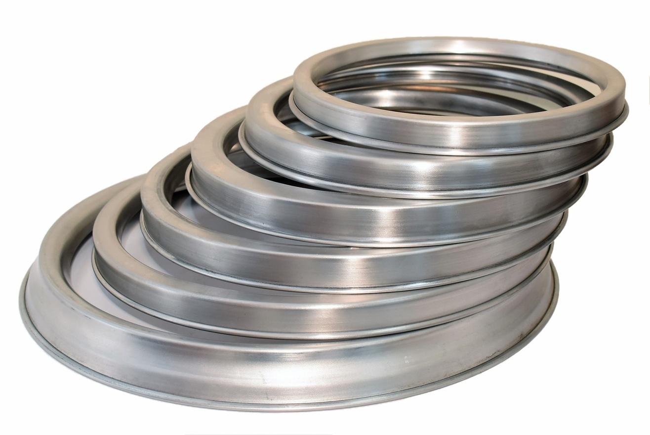 "Aluminium Saucing Ring For Deep Pizza Tray 9"""