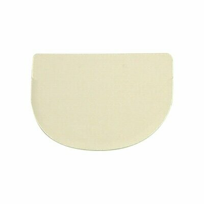 Rounded Dough Scraper 120 x 88mm
