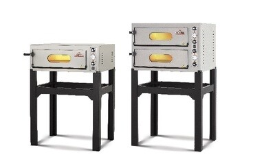 Italforni EK66 Electric Compact Oven Double Deck with Stand
