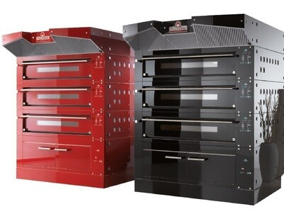 Italforni Bull Deck Oven Large - Red