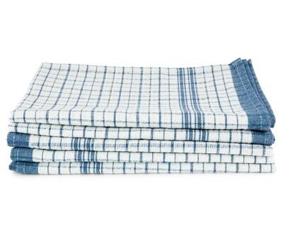 Super Soaker Waffle Tea Towels Large - Blue
