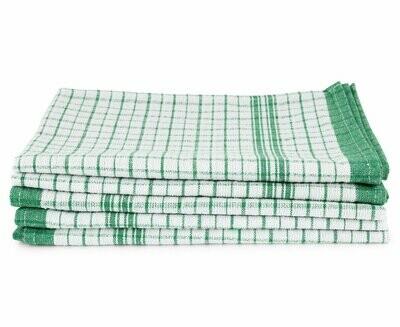 Super Soaker Waffle Tea Towels Large - Green