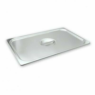Stainless Steel Lid 1/6 Size to suit 1/6 Gastronorm Pans