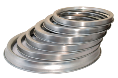 Aluminium Saucing Ring For Deep Pizza Tray 8
