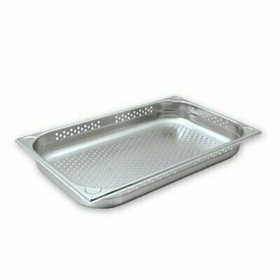 Stainless Steel Gastronorm Pan Perforated 1/1 x 100mm