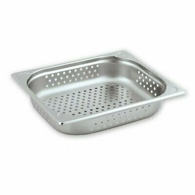 Stainless Steel Gastronorm Pan Perforated 1/2 x 100mm