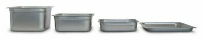 Stainless Steel Gastronorm Pan 1/6 x 100mm
