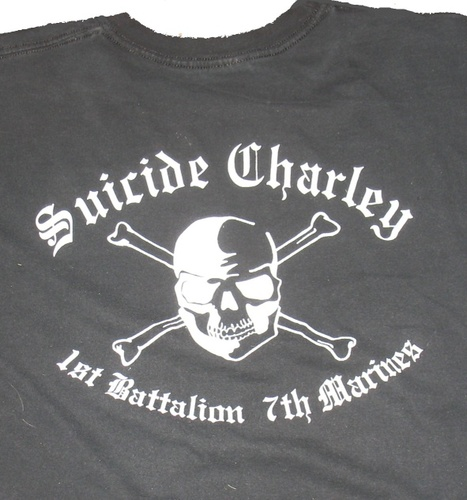 Suicide Charley Short Sleeve T-Shirt Medium (Black)