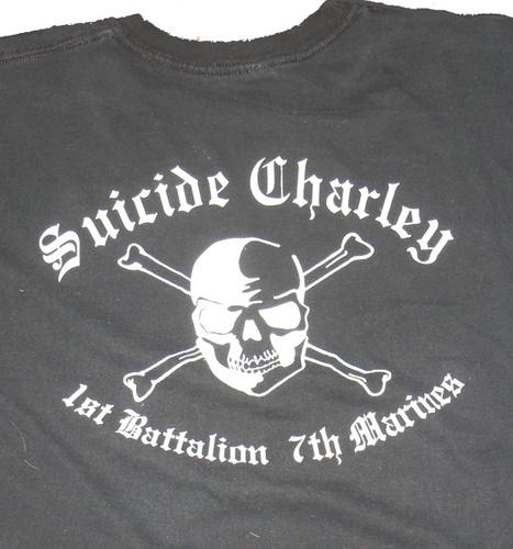 Suicide Charley Short Sleeve T-Shirt X-Large (Black)