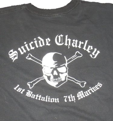 Suicide Charley Long Sleeve T-Shirt Large (Black)