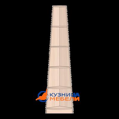Стойка угловая для стеллажей из ДСП ламинированной, оклеенной меламиновой кромкой