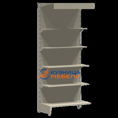 Металлические стеллажи для продуктового магазина