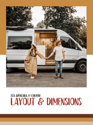 Tío Aventura // Chevere // Layout & Dimensions Guide
