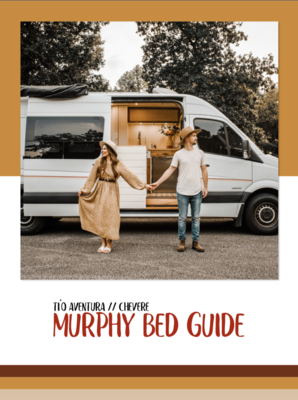 Tío Aventura // Chevere // Murphy Bed Reference Guide