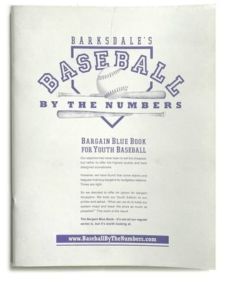 Bargain Blue Book for Youth Baseball