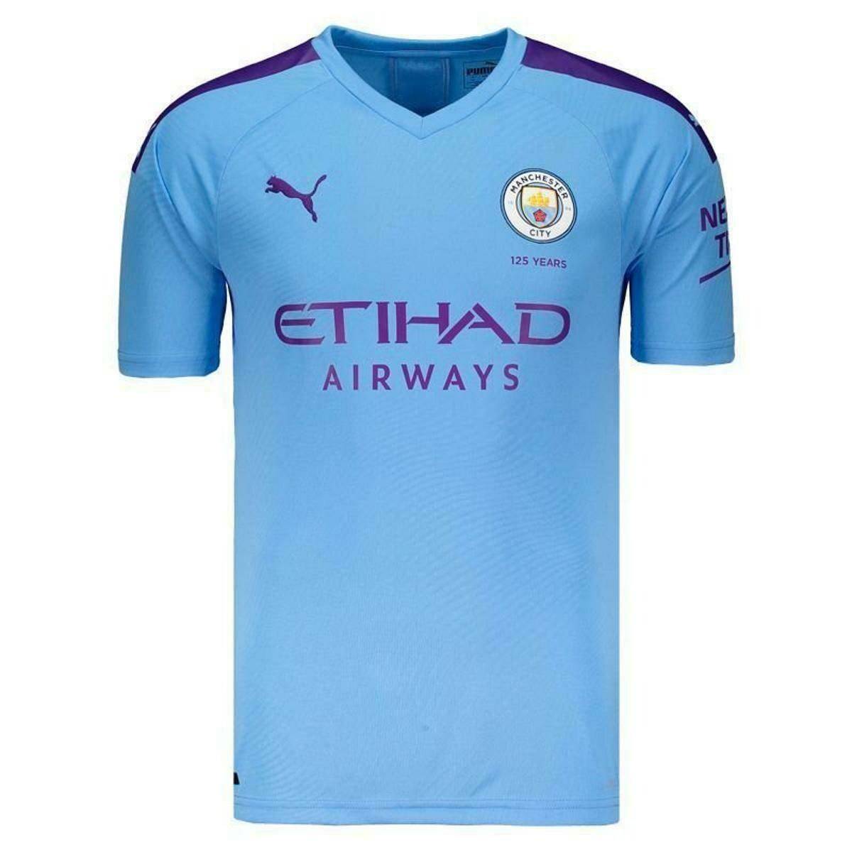 Camisa do Manchester City Home I 2019-2020 PUMA