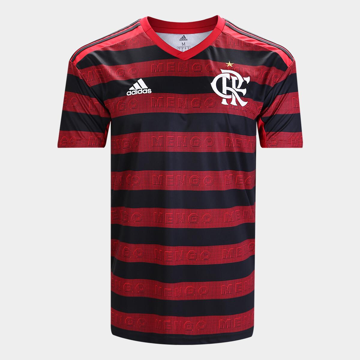 Camisa do Flamengo Adidas 2019 Home