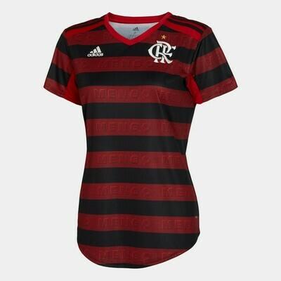 Camisa do Flamengo I 2019 adidas - Feminina Pronta Entrega