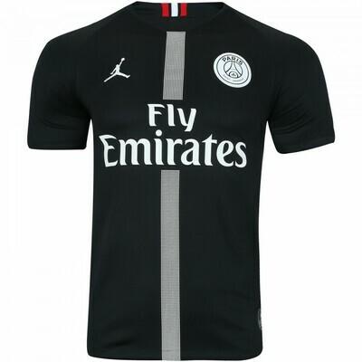Camisa Paris Saint-Germain – Jordan Preta 18/19