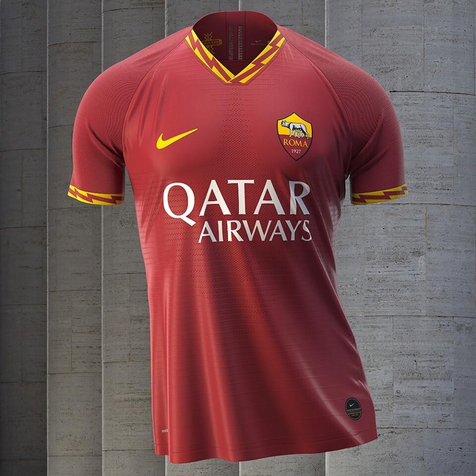 Camisa Roma Home 19/20 Torcedor Nike Masculina