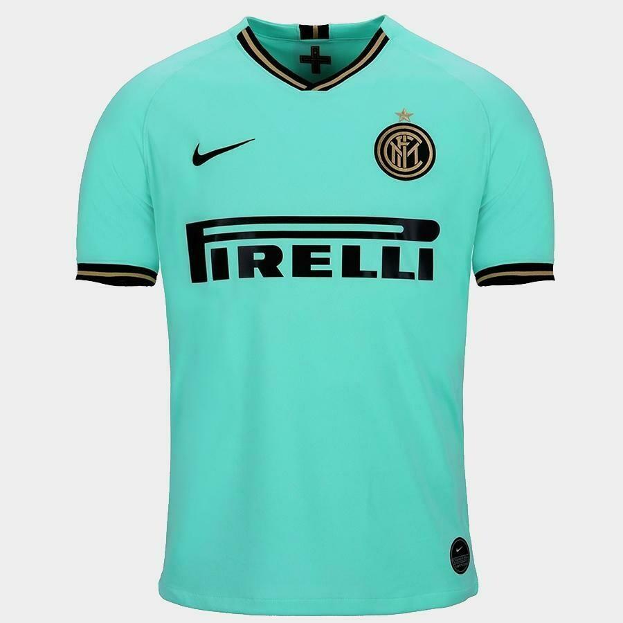 Camisa Inter de Milão Away 19/20 Nike Masculina - Verde água