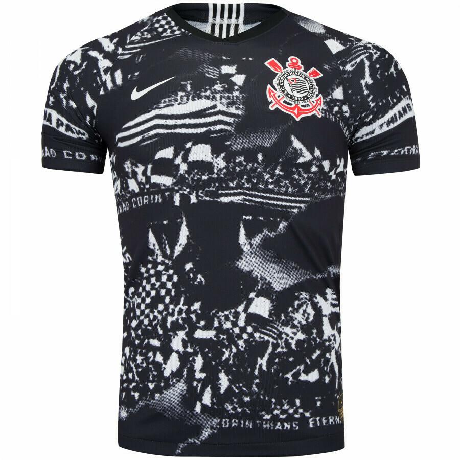 Camisa do Corinthians III Invasões 2019 Nike Pronta Entrega