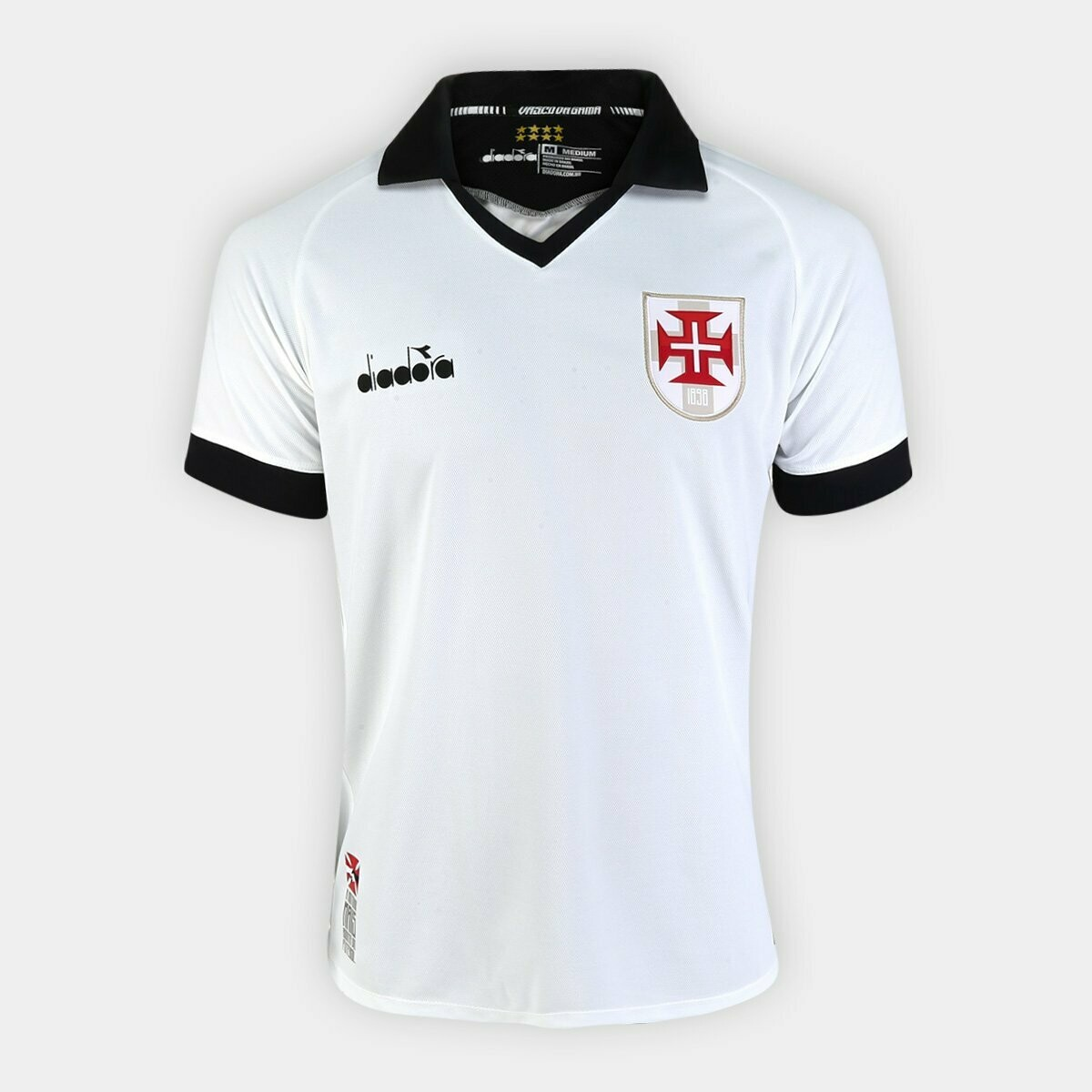 Camisa Vasco III 19/20 Torcedor Diadora Masculina - Branco