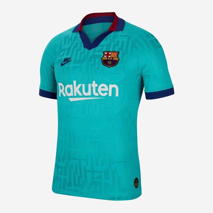 Camisa Nike Barcelona III 2019/20 Torcedor