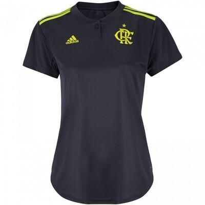 Camisa do Flamengo III 2019 adidas - Feminina
