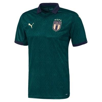 Camisa verde da Itália 2019-2020 PUMA | Renascimento