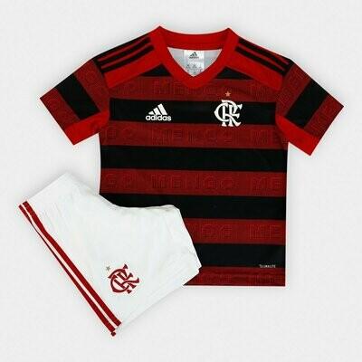 Camisa do Flamengo I 2019 adidas - Infantil+ Short de Brinde
