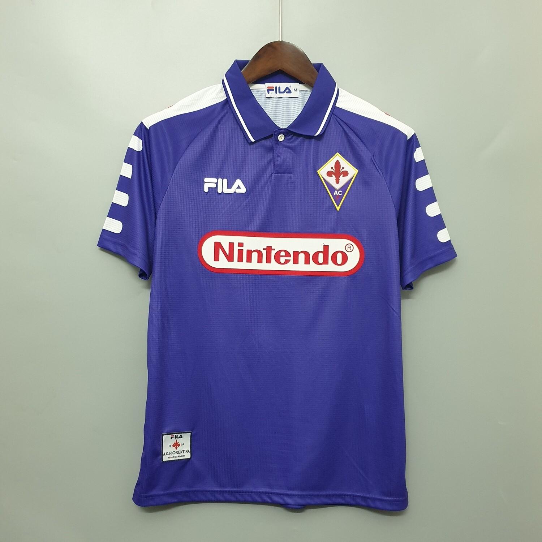 Camisa Fiorentina 1998- Nintendo