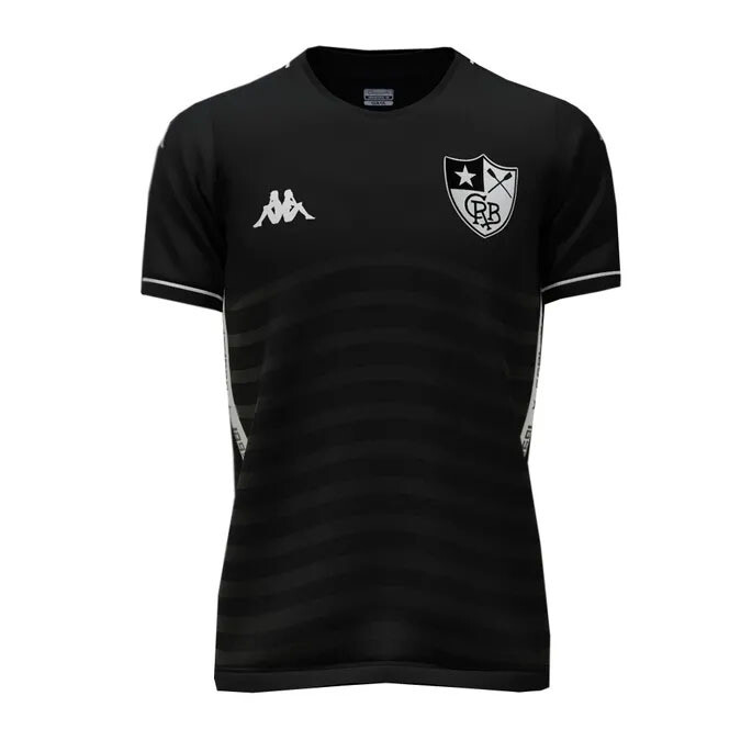 Camisa do Botafogo II away 2019-2020 Kappa Preta