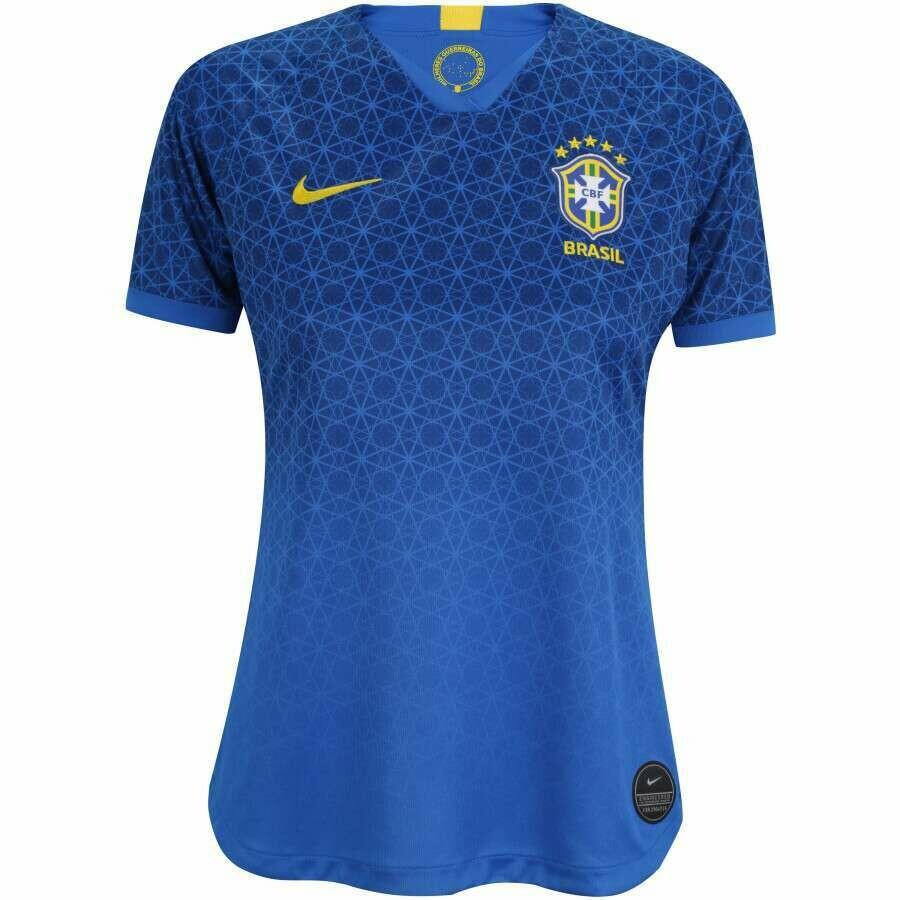 Camisa da Seleção Brasileira II 2019 Nike - Torcedora - Feminina