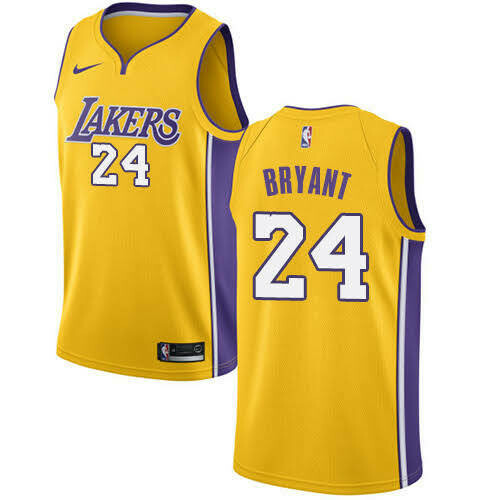 CAMISA LOS ANGELES LAKERS - 24 KOBE BRYANT -PRONTA ENTREGA