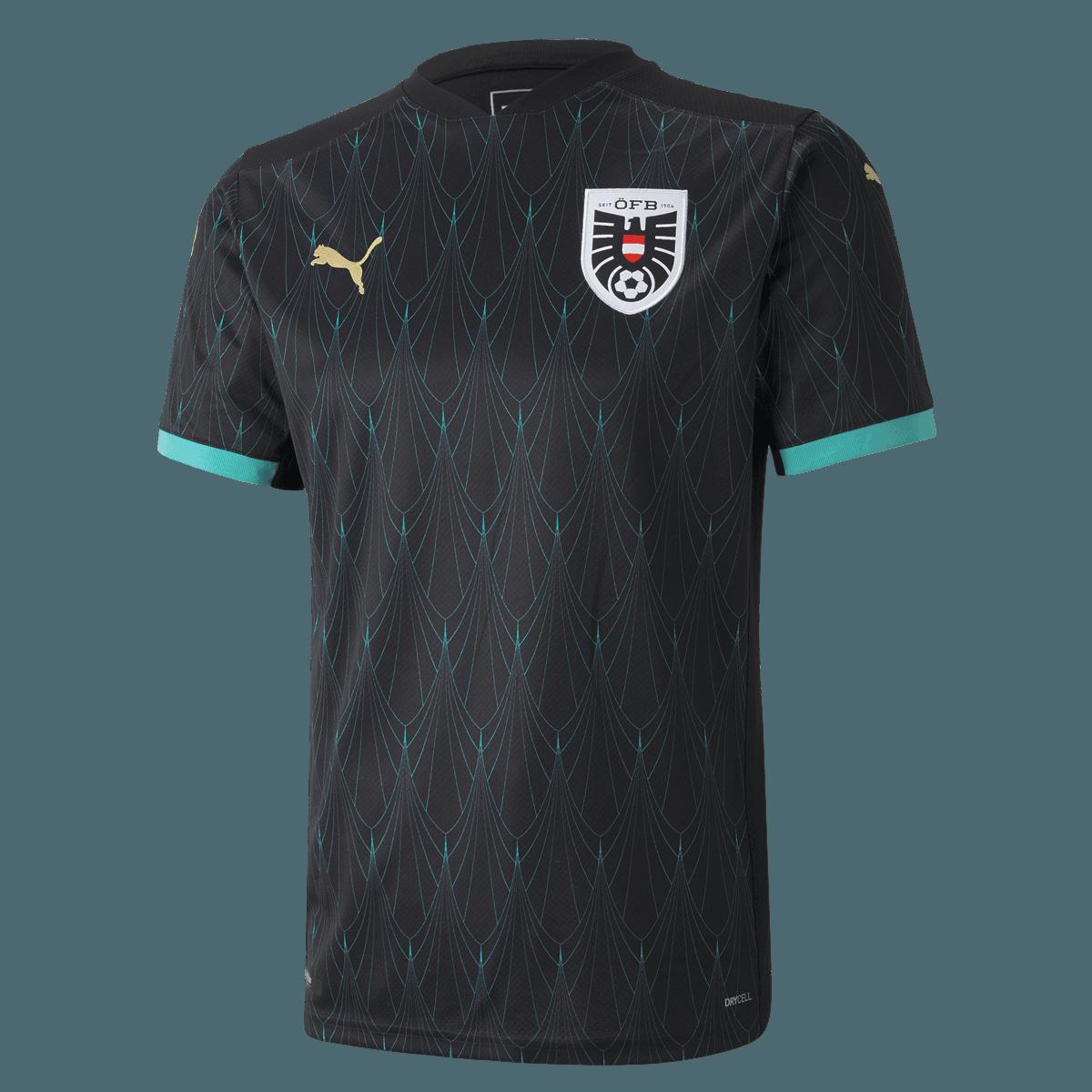 Camisa Away  da Áustria 2020-2021 Puma