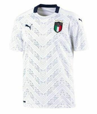 Camisa Branca  Away  da Itália 2019-2020 PUMA