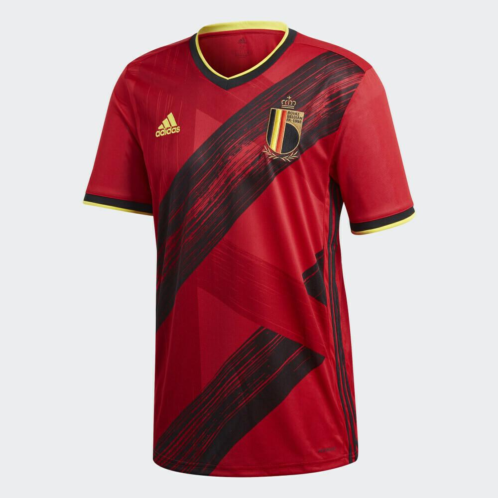 Camisas da Bélgica 2020-2021 Adidas