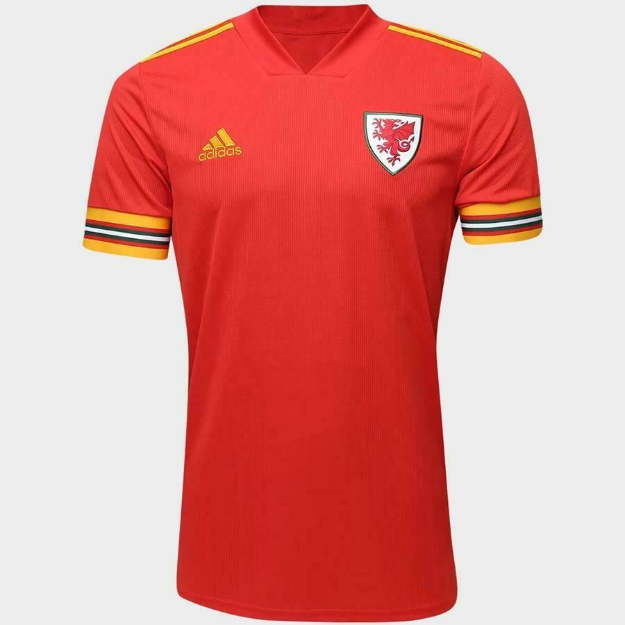 Camisa do País de Gales 2020-2021 Adidas